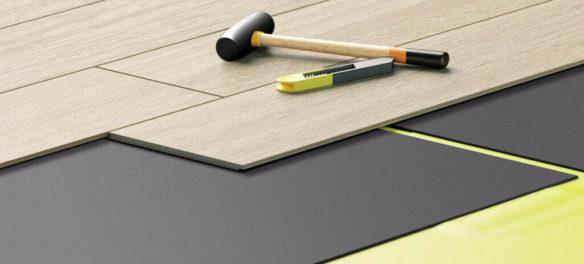 podkład pod panele podłogowe